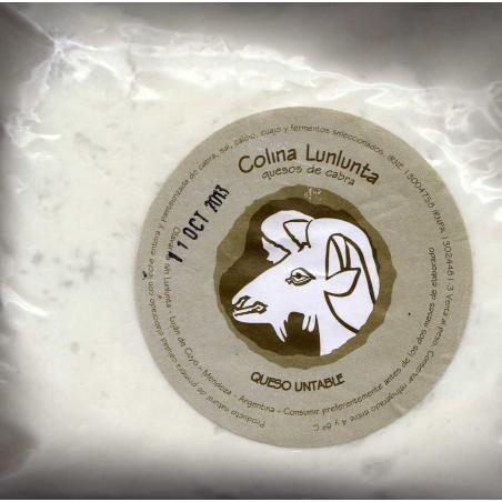 Ricota de Cabra Colonia Lunlunta x 450 grs (al peso)