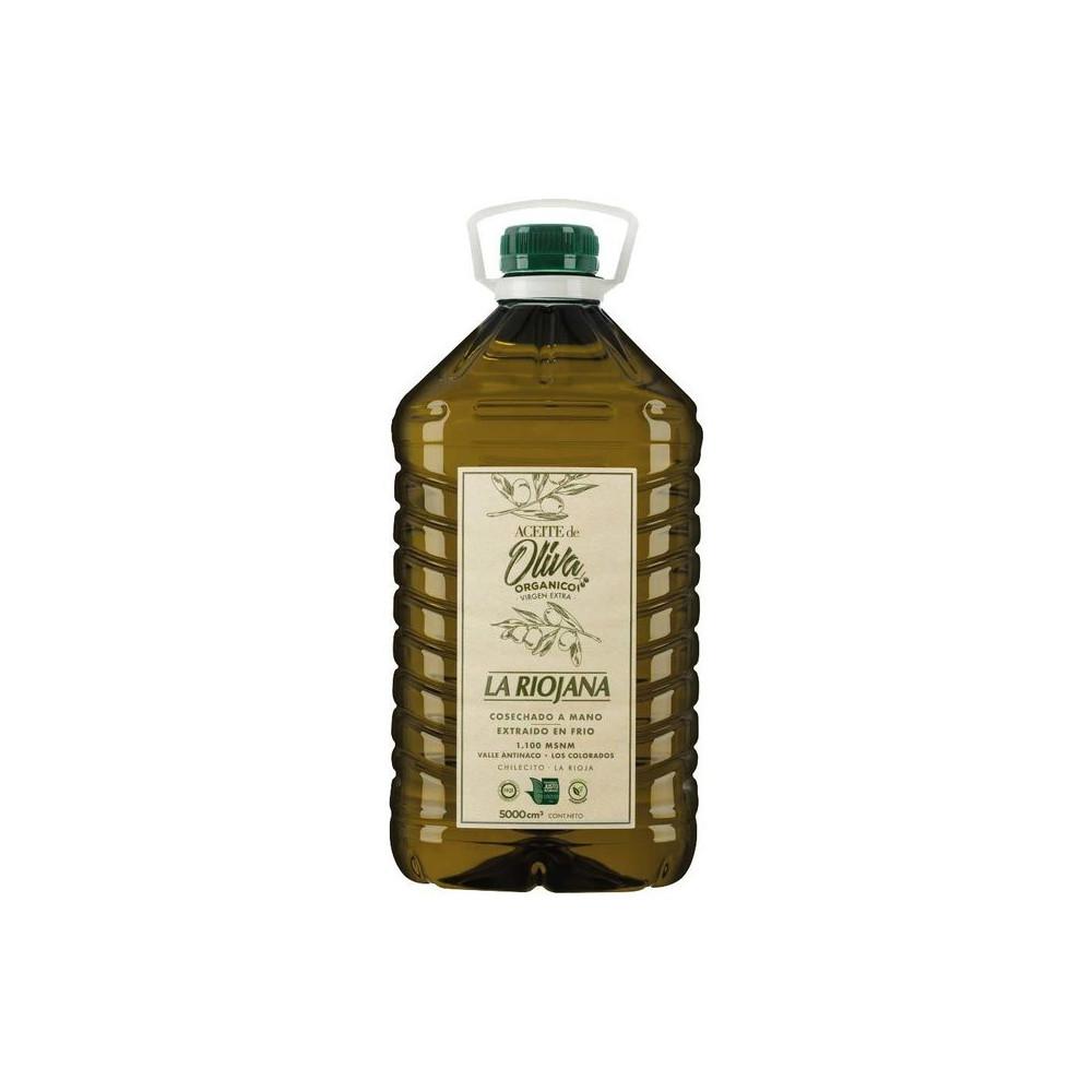 "Aceite de Oliva ""La Riojana"" orgánico x 5 lts"