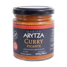 Curry PICANTE , en pasta x 200 grs