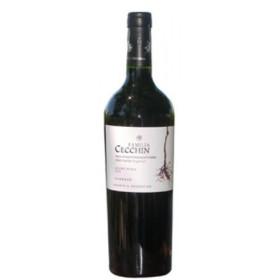 """Vino """"Familia Cecchin"""" Carignan, sin sulfito x 750 ml"""